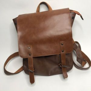 Zebella | Vegan Leather Laptop Backpack